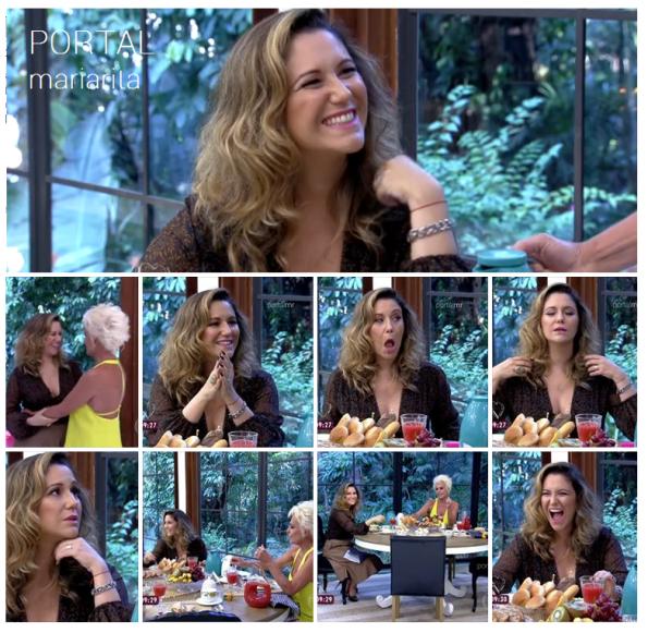 Maria Rita no Mais Você, Ana Maria Braga - TV Globo