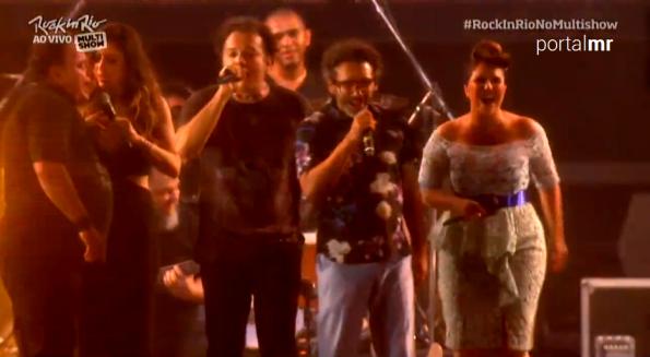 Maria Rita no Rock in Rio 2015 | Reprodução/Globotv